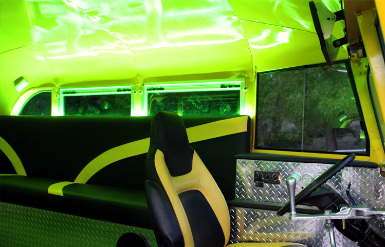 Fun Small Party Bus for your small group!
